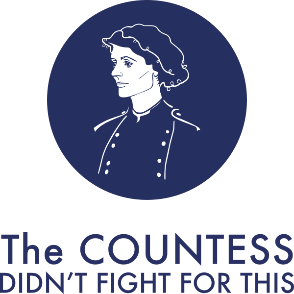 The Countess Didn't Fight For This logo