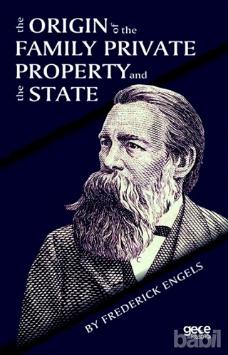 """Book cover of """"The Origin of the Family, Private Property and the State"""" by Frederick Engels"""